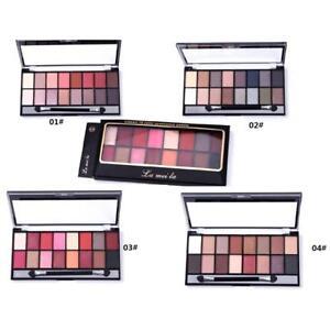 16Farben-Make-Up-Augenschminke-EyeShadow-Lidschatten-Palette-Kosmetik-Schminkset