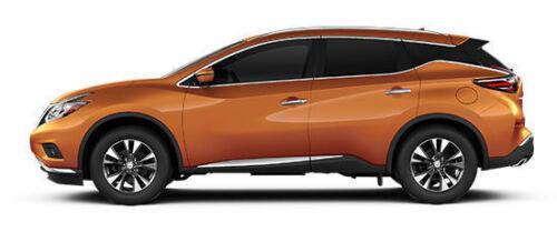 Husky Weatherbeater Front /& Rear Floor Mats BLACK fits 2015-2018 Nissan Murano