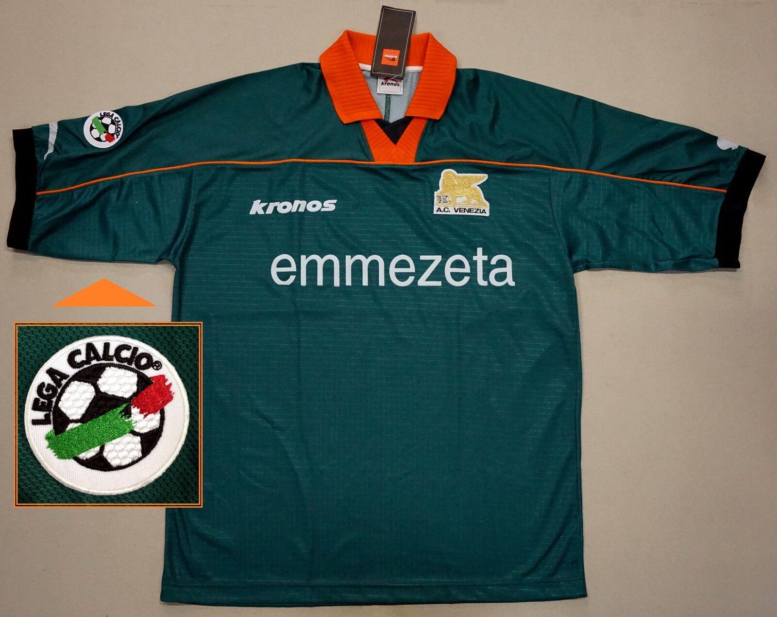 AC Venezia 1999 2000 3rd JERSEY MAGLIA (L) - Lega Calcio Parche  BNWT-Italia