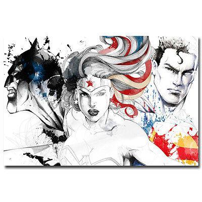 Wonder Woman Movie Art Silk Poster 12x18 24x36