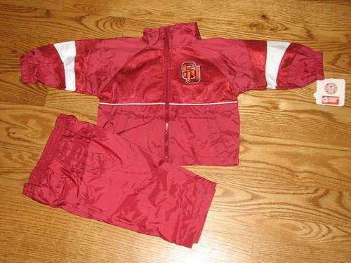 NEW Baby SU Syracuse Orangemen Windsuit Set Size 18M 18 Mo Boys Pants Jacket