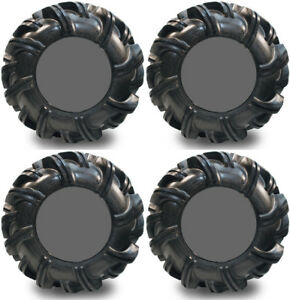 4-High-Lifter-Outlaw2-ATV-Tires-Set-2-Front-28x9-5-14-amp-2-Rear-28x11-14-Outlaw-2