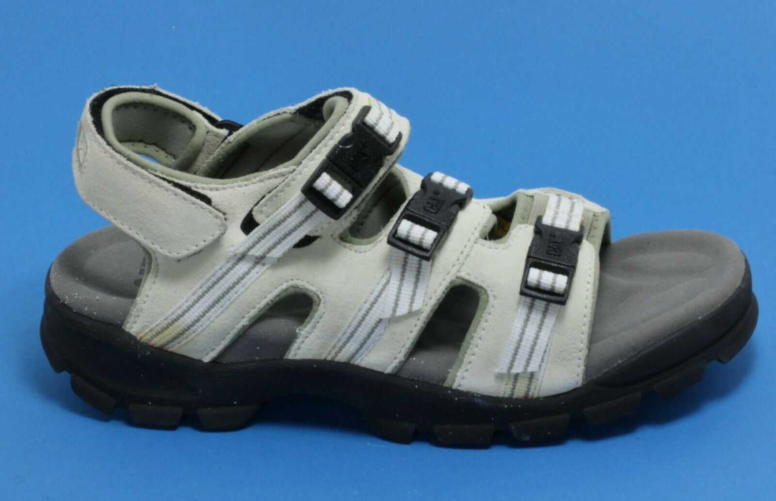 704 Sandal Trekking Touch Fastener Outdoor Shoes Summer Leather Caterpillar 44