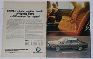Advert-Pubblicita-1978-BMW-728-730-733i-SERIE-7-E23