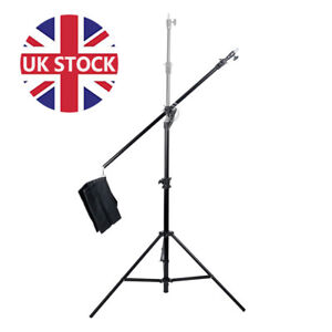 Heavy Duty portable Studio Boom Stand Kit Carry bag Extra Sturdy Photo Video