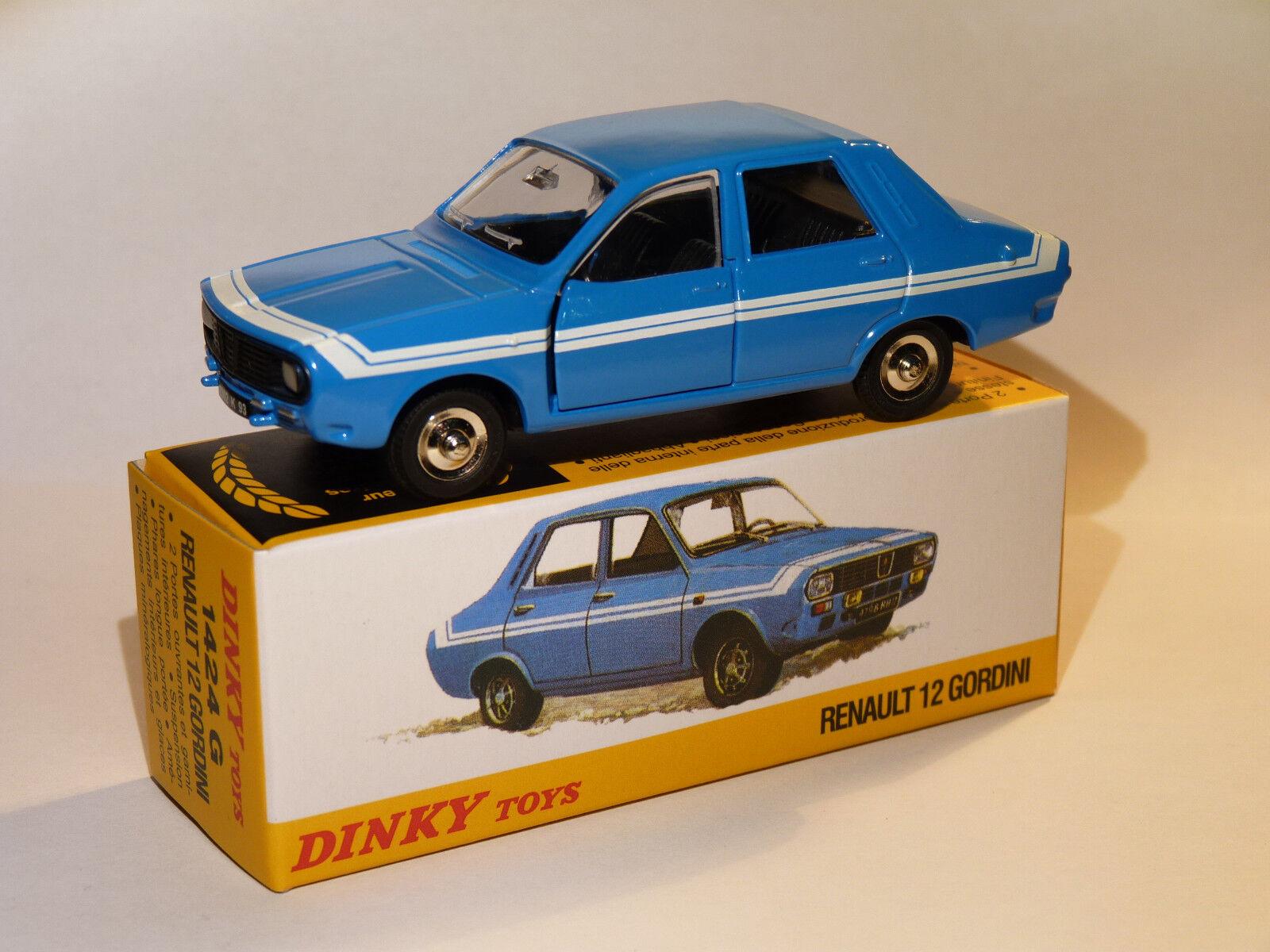 Renault 12   R12 Gordini - ref 1424G   1424 G to the 1 43 dinky toys atlas