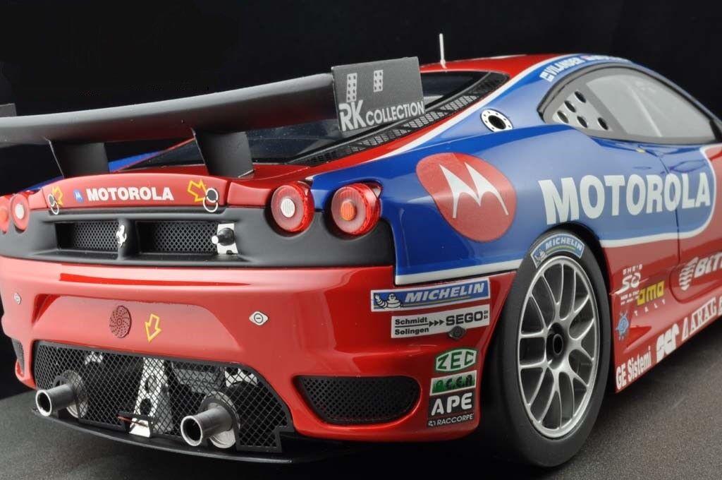 Coche De Carrera Ferrari F430 Sport 18 rosso carrusel F GTO GT GP Raras  1 de 40 hecho nunca