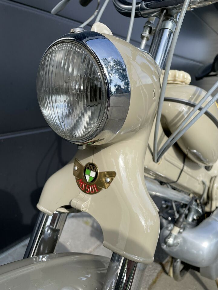Puch MS 50 Baby, 1954, 500 km