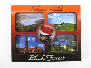 Schwarzwald-Black-Forrest-Holz-Souvenir-Magnet-Germany-Deutschland-Neu