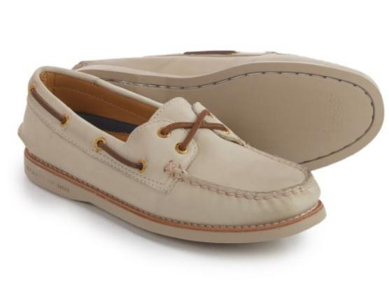 Sperry Top-Sider  gold Cup Collection Women's A O Boat shoes  160 NIB