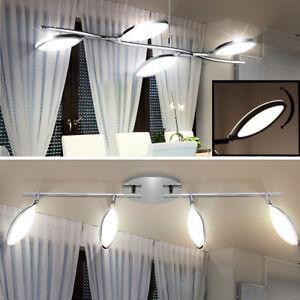 Lampe-d-039-eclairage-a-LED-plafond-radiateur-chrome-mouvement-du-spot-WOFI