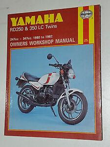 Yamaha-RD250-amp-350-LC-Twins-Repair-Haynes-Owners-Workshop-Manual