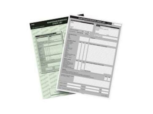 Regin entretien Check List Pad regp 65