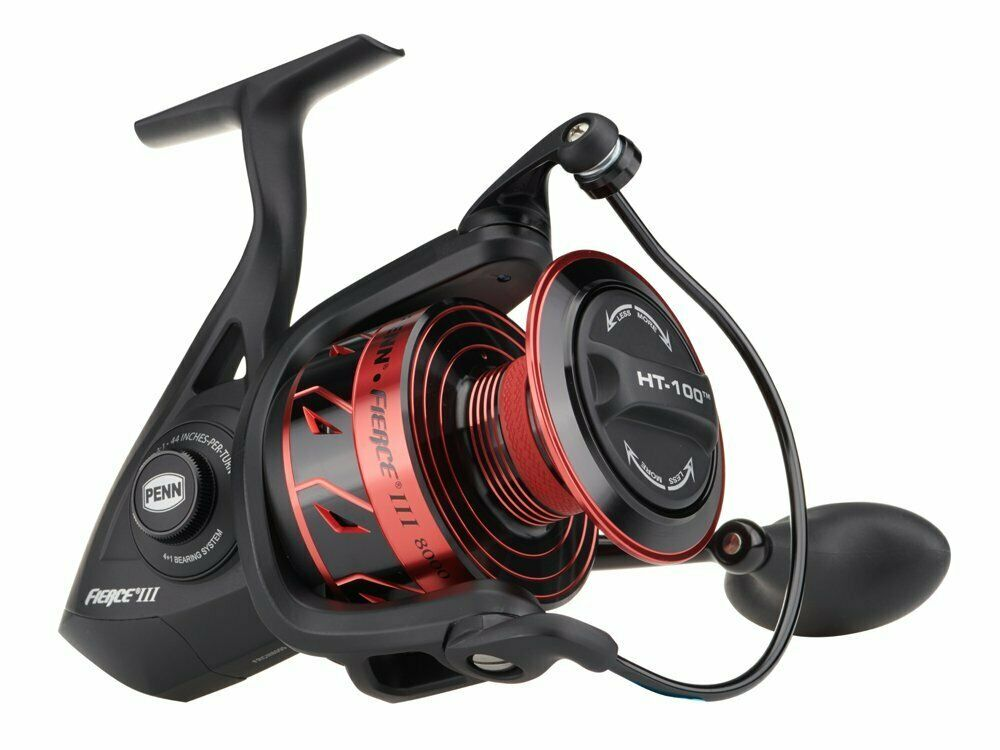Penn Fierce III  1000 - 6000 Spinning Carrete Full metal body NUEVO 2020