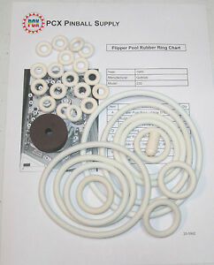 1965-Gottlieb-Flipper-Pool-Pinball-Rubber-Ring-Kit