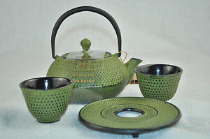 Image Is Loading Rikyu Cast Iron Tetsubin Teapot 2 Cups Trivet