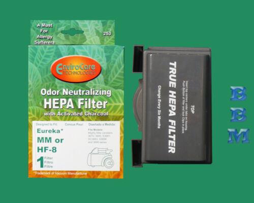 1 Eureka HF8 HEPA Filter 60666 MM Mighty Mite Allergen Sanitaire Canister Vacuum