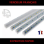 REGLETTE-LED-12V-5730-EN-ALU-LONGUEUR-50CM-LOT-DE-2PCS miniature 1