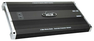 Lanzar-MXA284-5000-Watt-2-Channel-Bridgeable-MOSFET-Amplifier