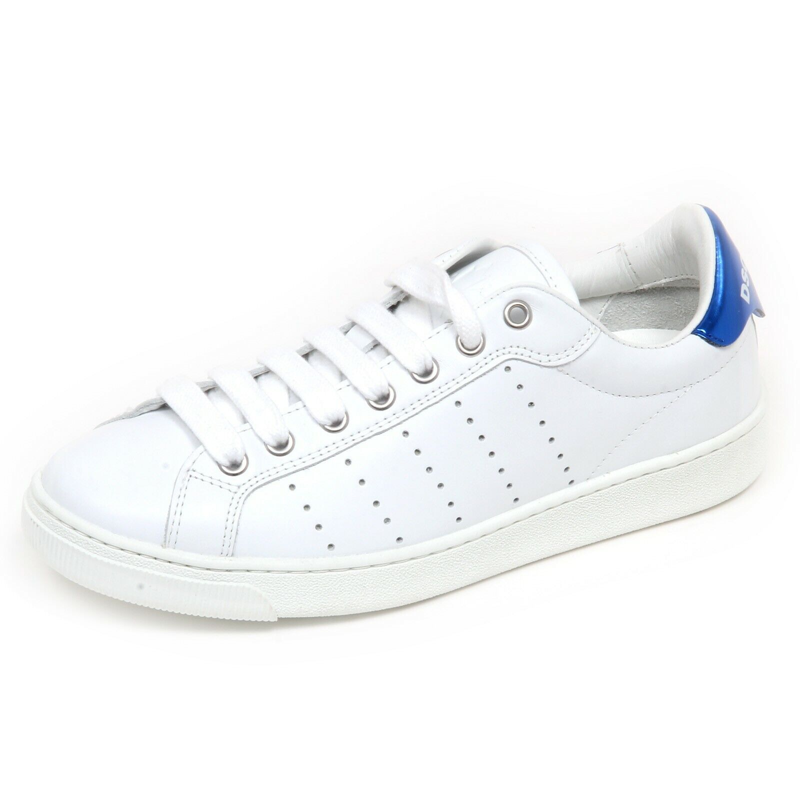 F6660 Womens Sneakers White bluee Metal DSQUARED 2 shoes shoe woman