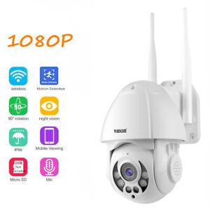 Wireless-IP-Speed-Dome-Camera-Wifi-HD-1080P-Night-vision-Pan-Tilt-Outdoor-camera