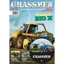 NEW... GRASSMEN ANNUAL 2018 ISSUE 1 (KRONE BIG X) & GRASSMEN AUTUMN 2018 DVD!!