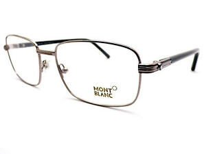 b1d7b28a063e MONT BLANC Men s Spectacles Glasses Frame Ruthenium   Grey MB0530 ...