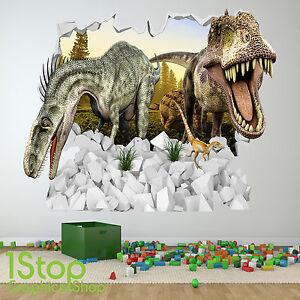 Caricamento Dellu0027immagine In Corso  Adesivo Parete Di Dinosauro Colore Pieno Per Ragazzi