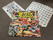 REZILLOS - CAN'T STAND THE REZILLOS - 1978 LP WITH INNER & INSERT MISPRINT LABEL