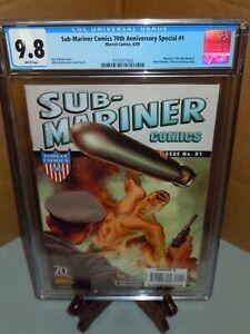 Sub-Mariner Comics 1 CGC 9.8 Marvel Comics 2009 Timely 70th Anniversary Special