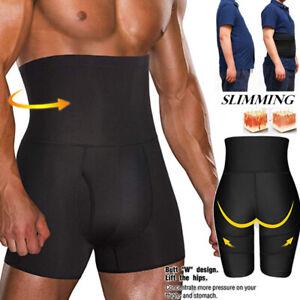 Men'S Body Shaper Tummy Control Slimming Shapewear Shorts High Waist Bdomen Trim