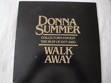 DONNA SUMMER WALK AWAY COLLECTOR'S EDITION BEST OF 1977-1980 VINYL LP 1980 DISCO