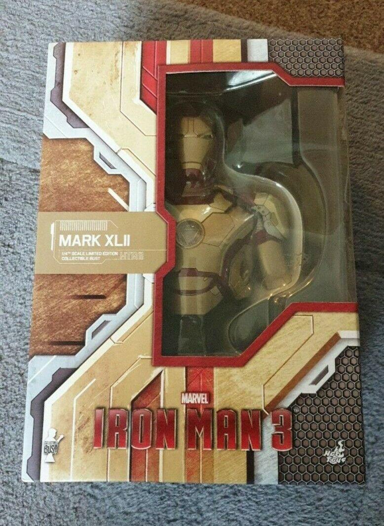 Hot toys iron man 3 mark xlii bust