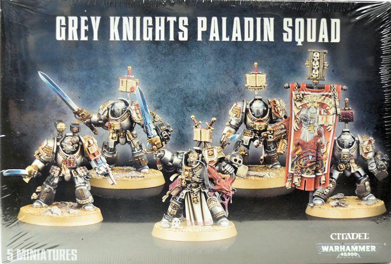Warhammer 40K grau grau grau Knights Paladin Squad GAW 57-09 115ae0
