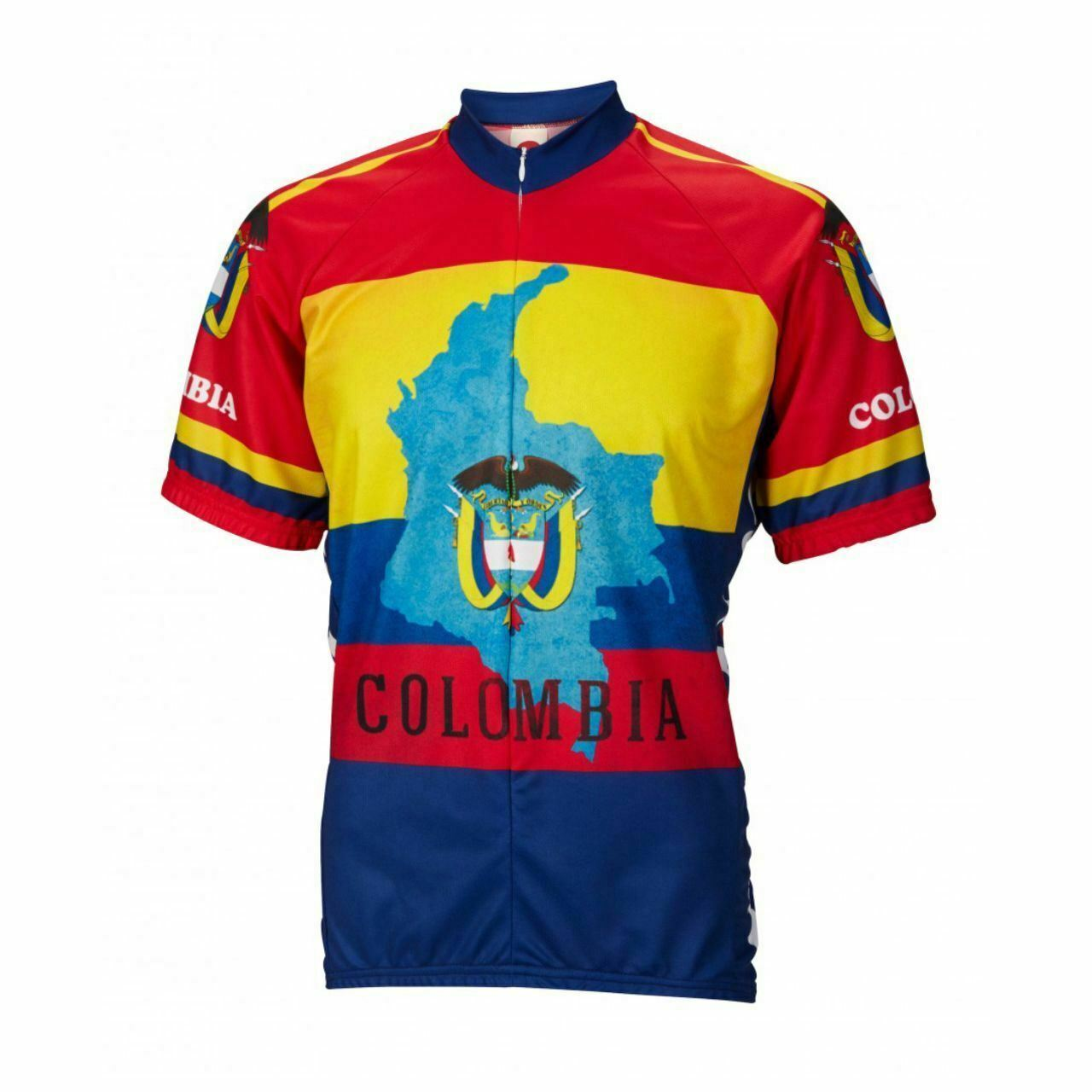 Columbia  country pride Short sleeve 16  zip men's cycling jersey  save 35% - 70% off