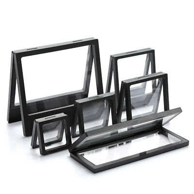 3D Floating Frame Shadow Box Picture Frame Jewelry Display Hypoxia Protect Case