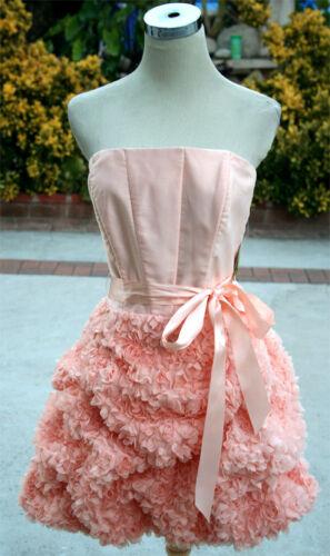 NWT JESSICA McCLINTOCK $145 Blush Cocktail Prom Dress 5