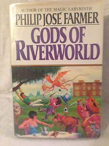 Philip-Jose-Farmer-Gods-of-Riverworld-1st-1st-1983-Alice-in-Wonderland-D-W