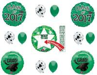Green Class Of 2017 Graduation Party Balloons Decoration Supplies Personalize