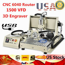 Usb 4 Axis 6040 Cnc Router Engraver Woodworking Milling Machine Diy Engraving