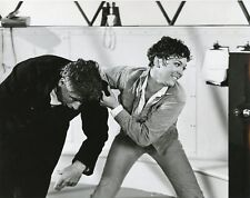 LINDA THORSON FIGHTS JOE DUNNE THE AVENGERS ORIGINAL 1967 ABC TV PHOTO