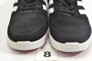 reputable site 54bac f936e Details about Adidas ZX VULC Core Black White Power Red Skate Discount  (330) Men's Shoes