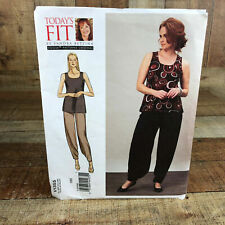 Vogue Sewing Pattern V1109 TODAY/'S FIT Woman/'s Shirt All One Size All NEW UNCUT
