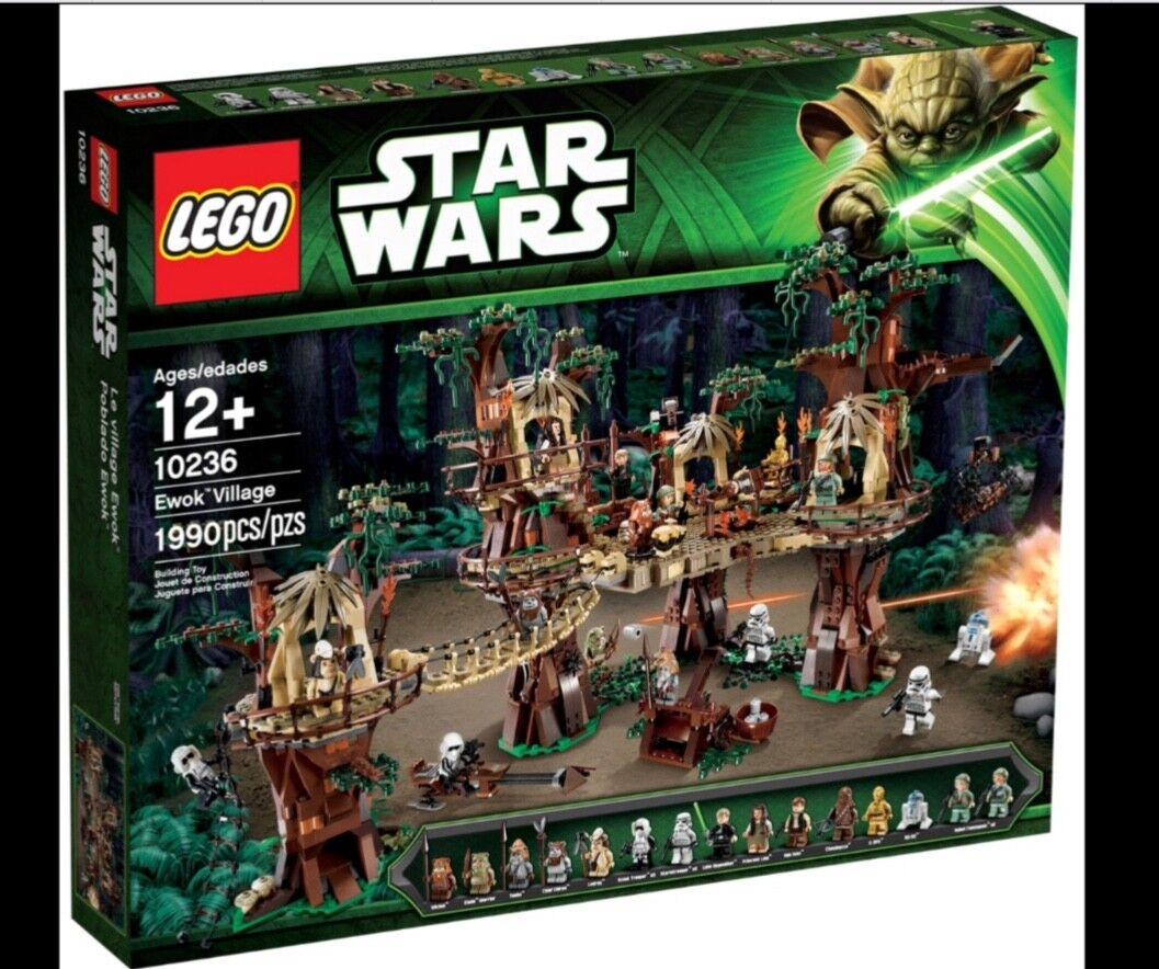 ✅ LEGO 10236 STARWARS EWOK VILLAGE NEU&OVP  ungeöffnet super Zustand