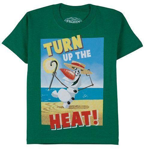 NEW NWT Youth Boys Disney Frozen Olaf Tee T-shirt 4 6 5 7 Multi-variety