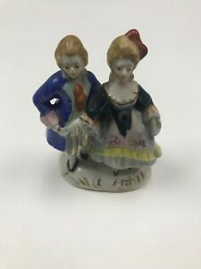 Vintage Victorian Occupied Japan Figurines Man And Woman Ebay