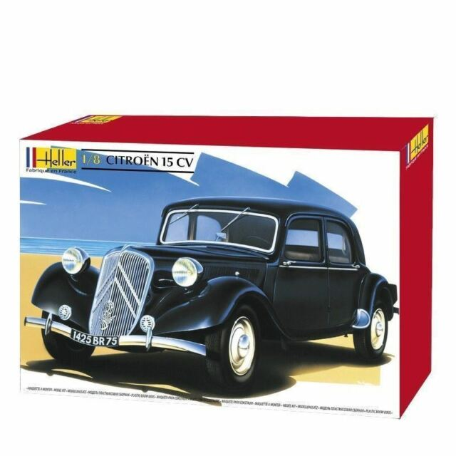 huge heller 1 8th scale citroen 15 cv 15 six traction avant