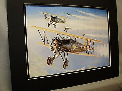 P 12 Pursuit Aircraft Bi Plane artist Aviation Archives Ebay Largest selection