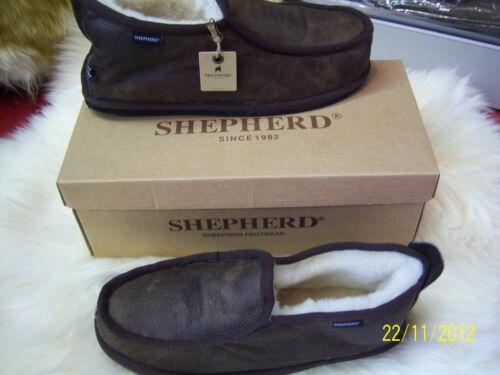 pecora 7 Brown di 11 Gunuine Mens Sweden pelle Hard By di Warm Pantofole Shepherd Antique 8 9 grezza Sole 10 pY7w7qg