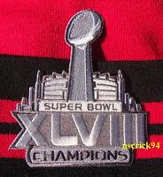 Super Bowl Superbowl 48 XLVIII Champions Seattle Seahawks Patch